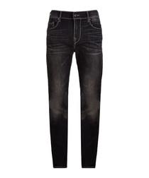 Rocco blue cotton blend jeans