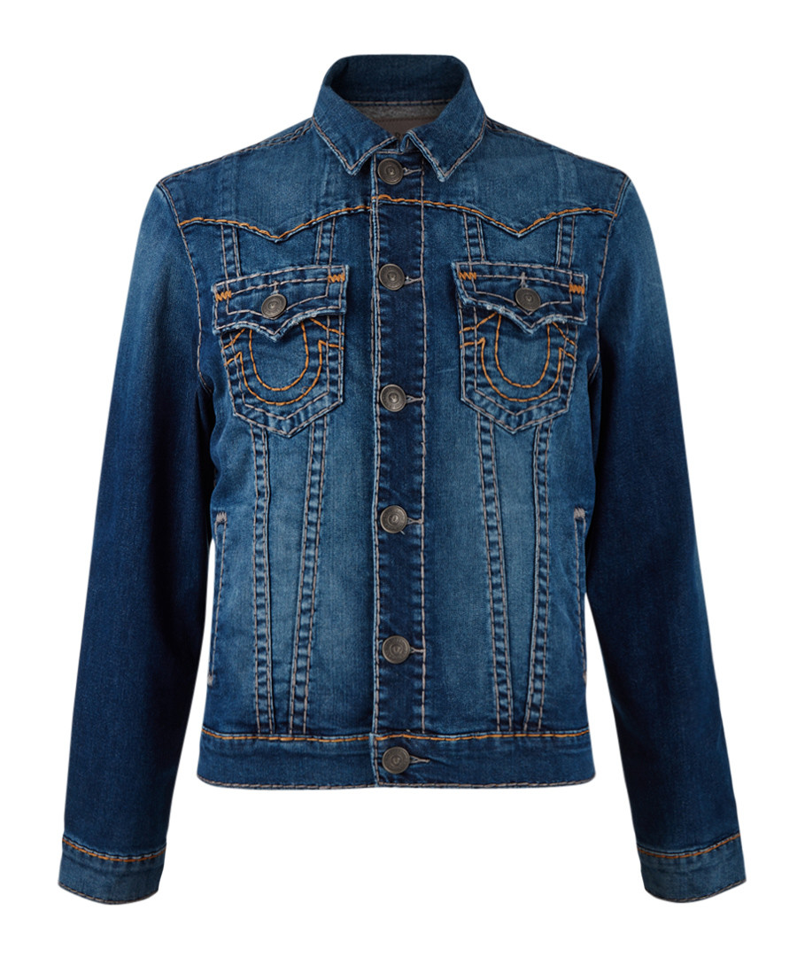 Jimmy indigo button-up jeans Sale - true religion
