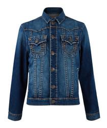 Jimmy indigo button-up jeans