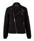 Black quilted zip-up jacket Sale - true religion Sale