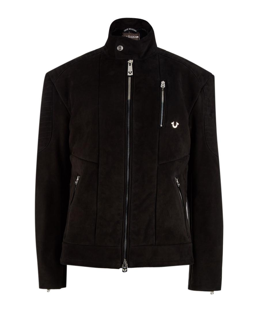 Bonded black long sleeve jacket  Sale - true religion