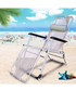 Grey foldable reclining chair  Sale - Outdoor Sunny Sale
