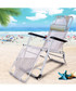 2pc grey foldable reclining chair set Sale - Outdoor Sunny Sale