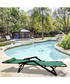 2pc green foldable reclining chair set Sale - Outdoor Sunny Sale
