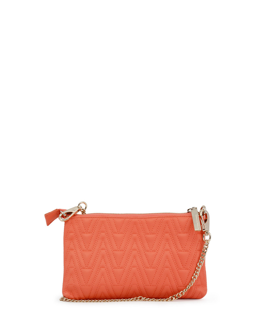 ... Coral stitched zip-top cross body bag Sale - versace jeans Sale ... 79221a4ed6702