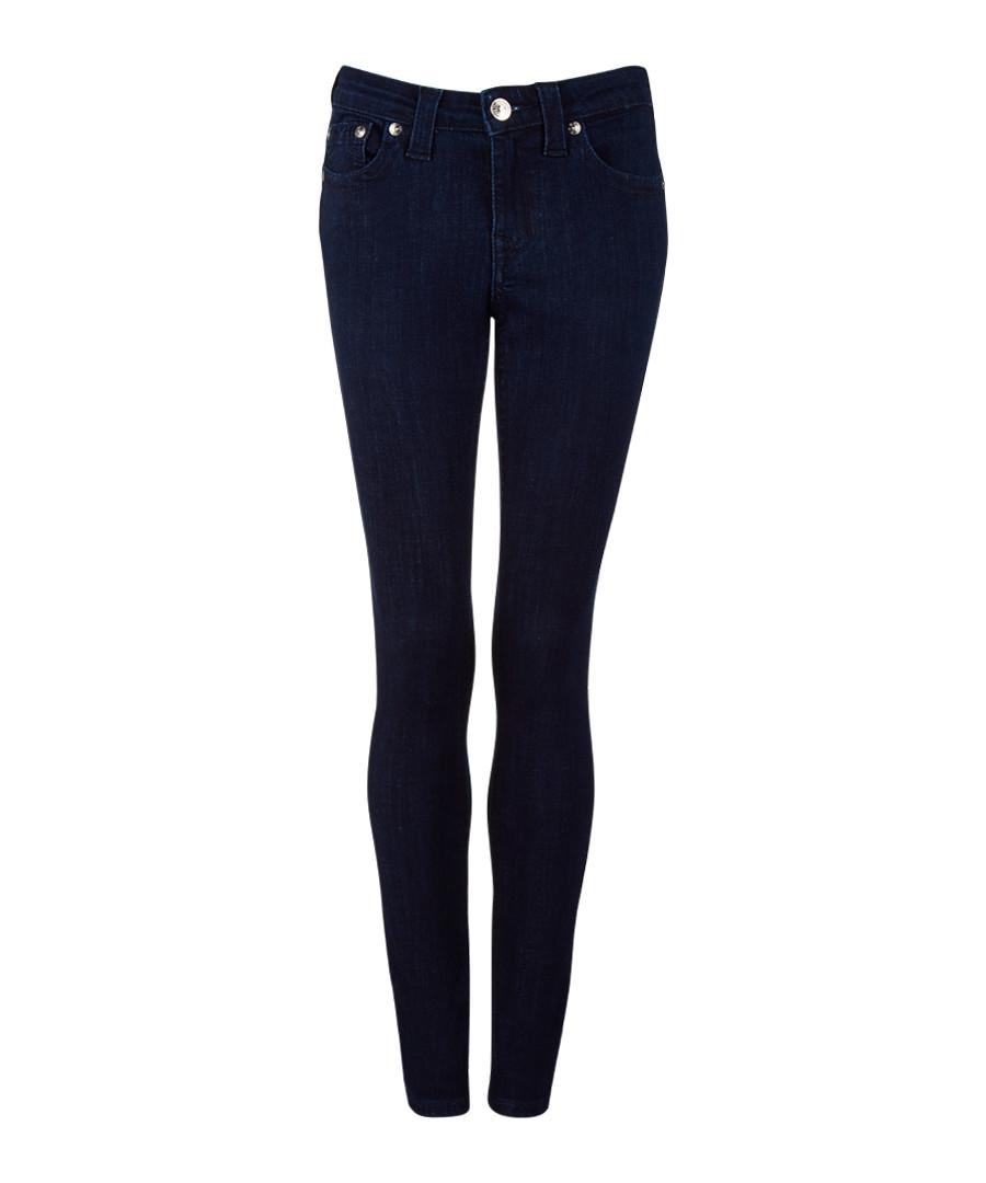 Black cotton blend jeans Sale - True Religion