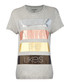 Metallic grey pure cotton T-shirt  Sale - true religion Sale