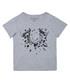 Boy's Shattered grey pure cotton T-shirt Sale - true religion Sale