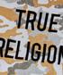 Boy's White cotton camouflage T-shirt Sale - TRUE RELIGION Sale