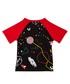 Boy's Black cotton space T-shirt Sale - true religion Sale