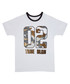 Boy's White cotton motif T-shirt Sale - true religion Sale