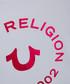 Girl's white cotton logo T-shirt Sale - true religion Sale