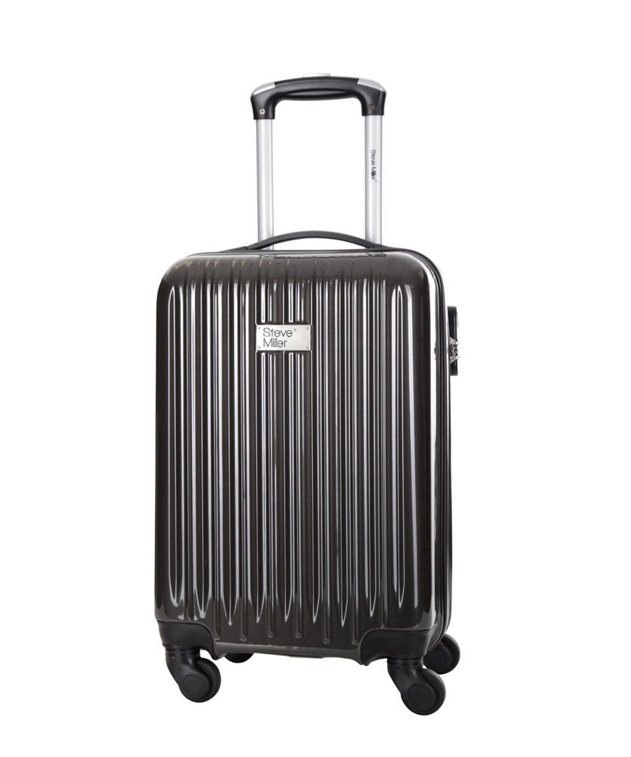 Dark grey spinner suitcase 46cm Sale - steve miller