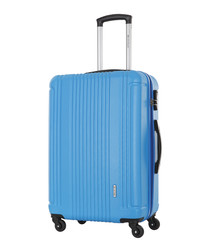 Blue spinner suitcase 70cm