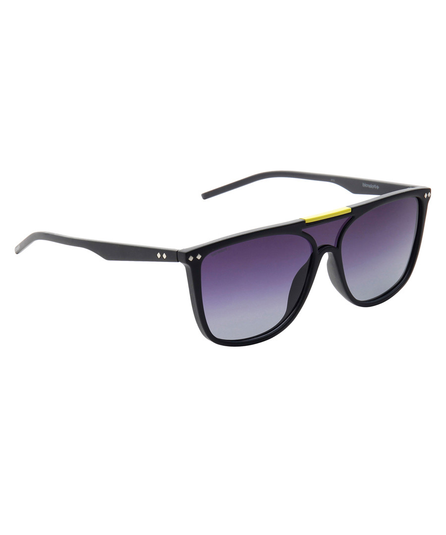 Purple full lens sunglasses Sale - polaroid