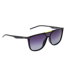 Purple full lens sunglasses