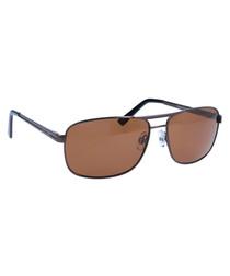 Light red lens sunglasses