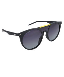 Black thick frame sunglasses