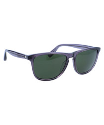 Grey frame sunglasses