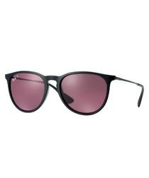 05e581676ac Discount Justin black   brown mirrored sunglasses