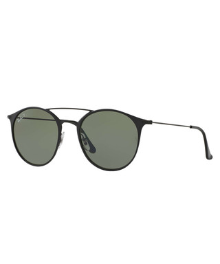 3ac38da54f8 Double Bridge black frame sunglasses Sale - Ray-Ban Sale