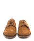 Taupe leather lace-up brogues Sale - Castellanisimos Sale