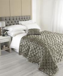 Limoges taupe bedspread 250cm