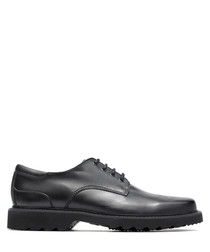 Northfield black leather formal shoes