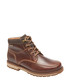 Centry brown leather lace-up boots Sale - rockport Sale