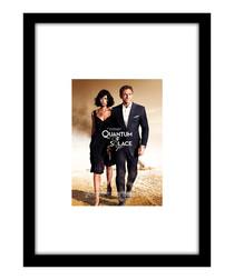 Quantum of Solace black framed print
