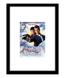 Die Another Day black framed print