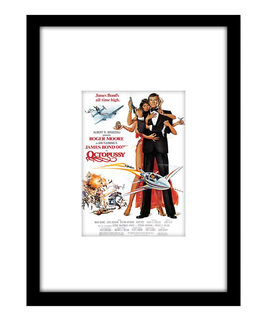 Octopussy black framed print Sale - film classics