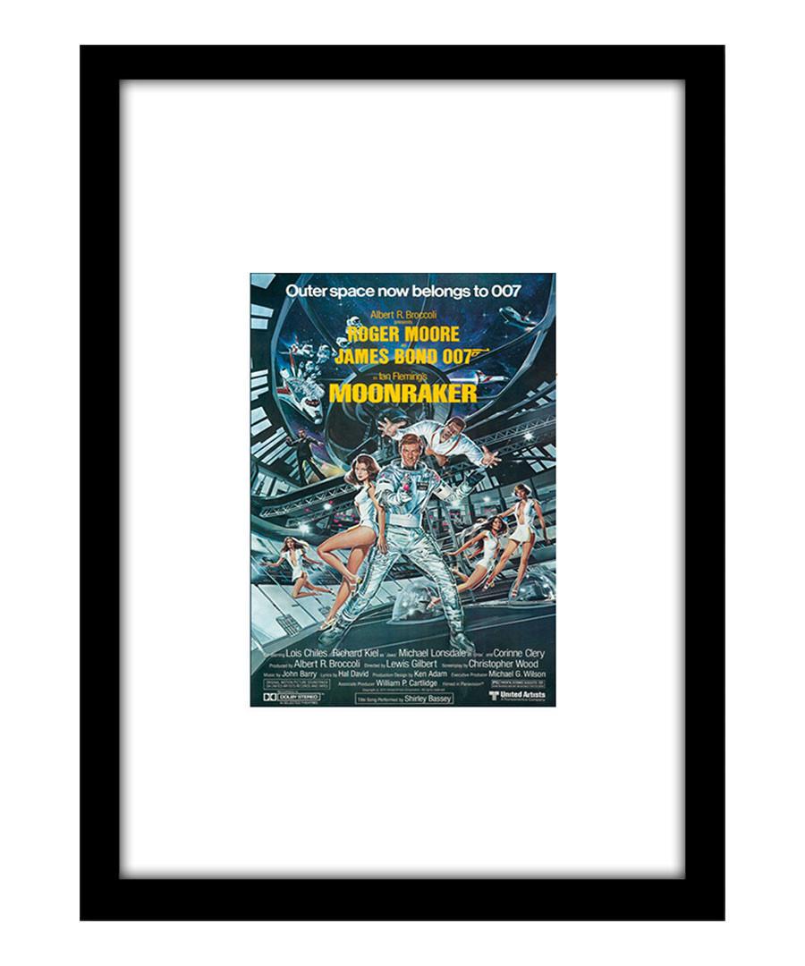 Moonraker black framed print Sale - The Art Guys