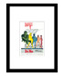 Dr. No black framed print Sale - The Art Guys Sale
