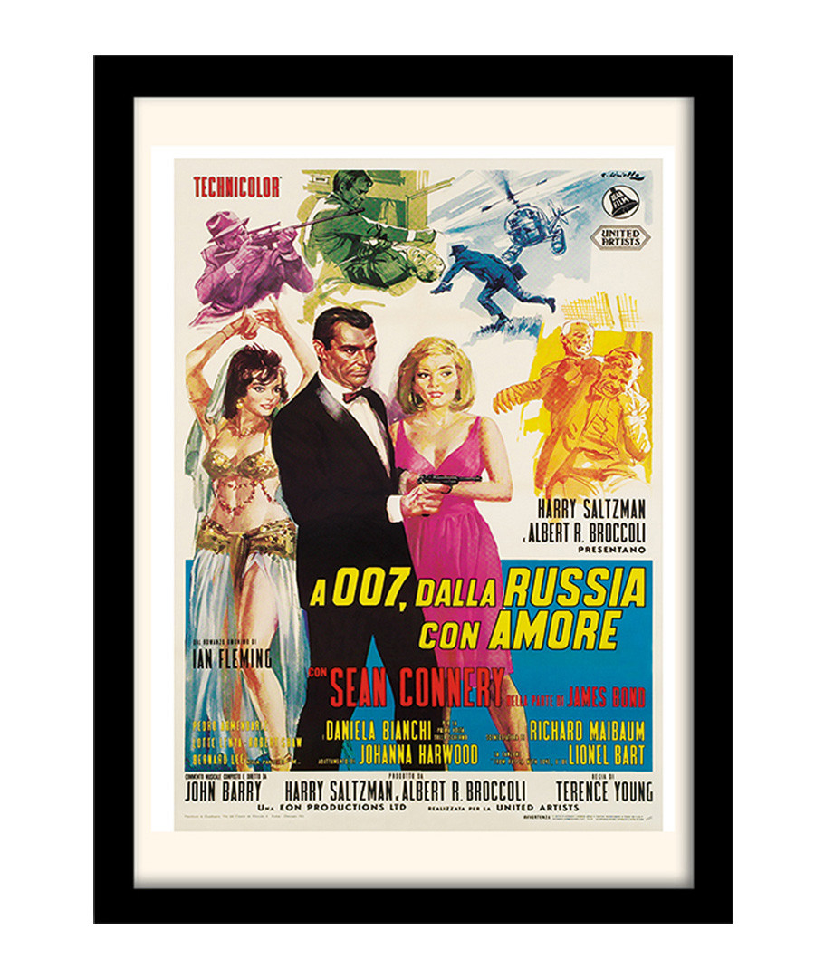 From Russia With Love framed print Sale - The Art Guys