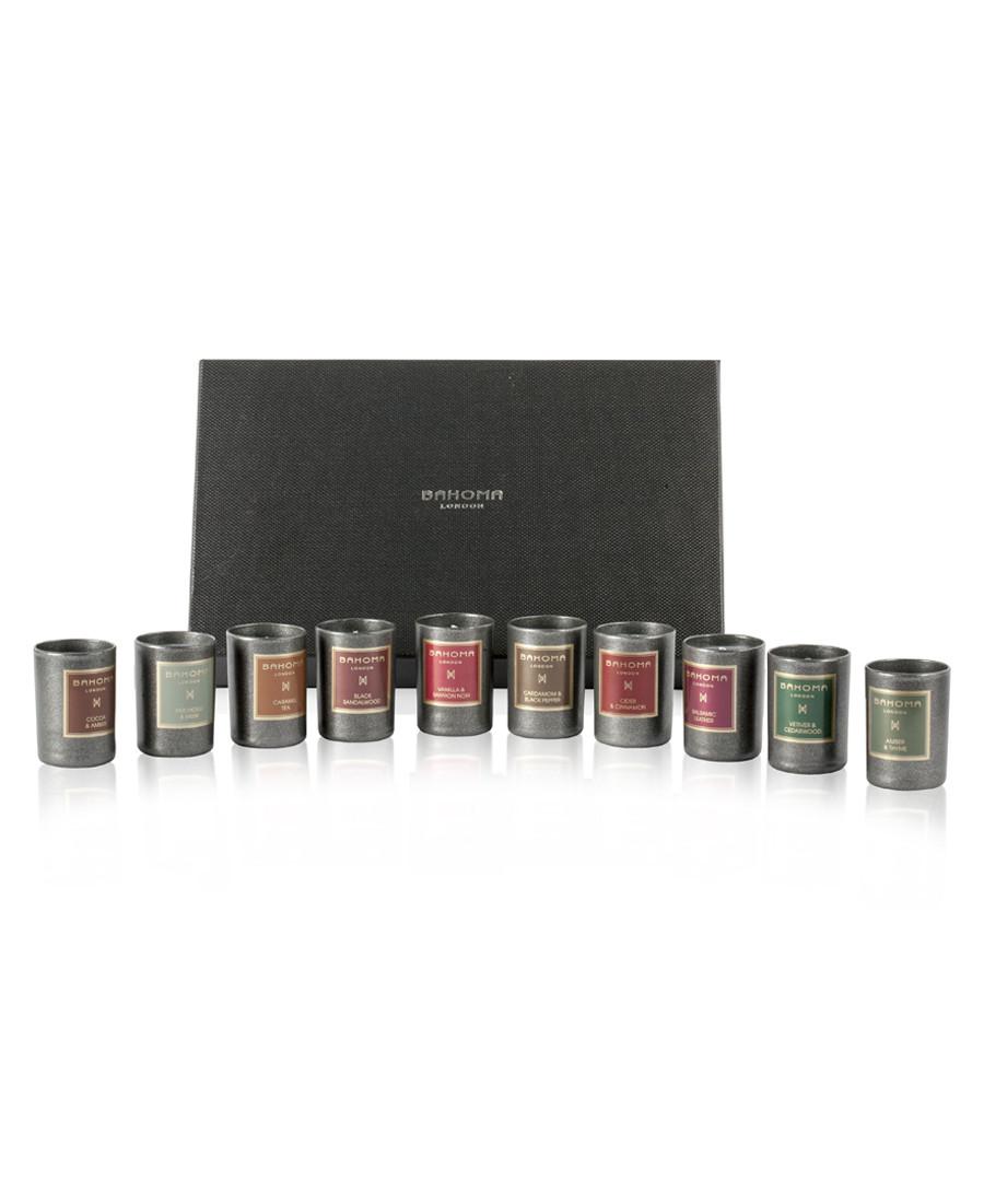 10pc Discovery mini candle set Sale - bahoma
