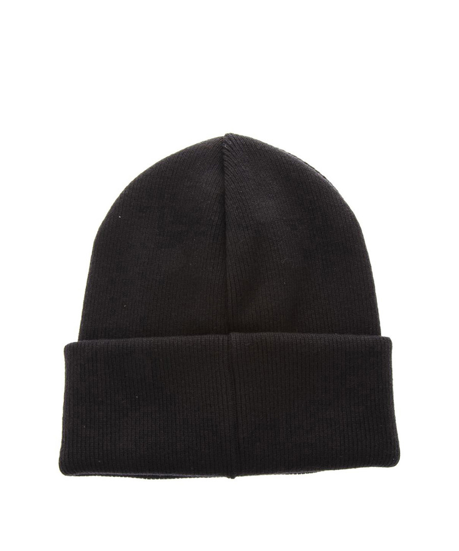 8a5be6b24 Discount Men's Be Cool Be Nice black wool beanie hat | SECRETSALES