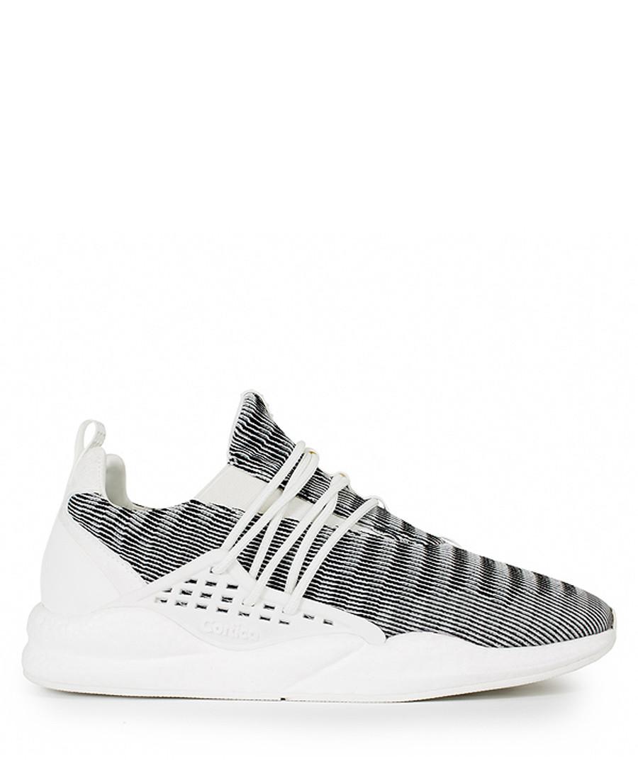 Men's Industria white knit sneakers Sale - Cortica