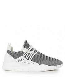 Men's Industria white knit sneakers