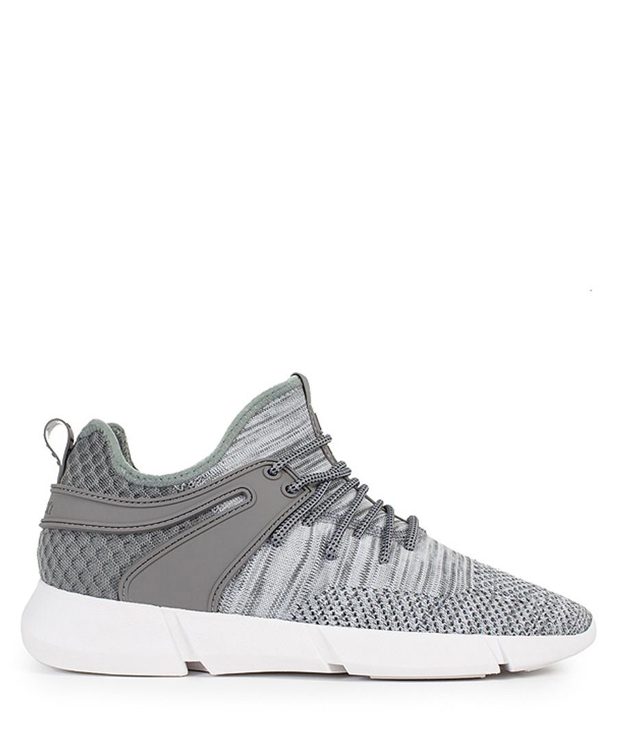 Women's Infinity grey knit sneakers Sale - Cortica