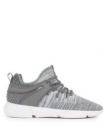 Women's Infinity grey knit sneakers