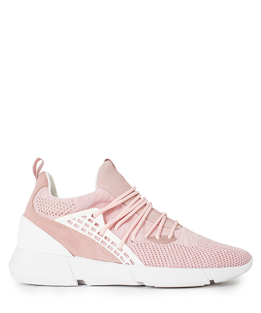 Women's Rapide pink knit sneakers Sale - Cortica