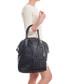 Black leather weave-effect shoulder bag Sale - anna morellini Sale