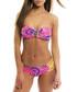 2pc Ushuaia pink bandeau bikini set Sale - Trelika Sale