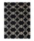 Quatrefoil grey wool rug 200 x 290cm Sale - CASABLANCA Sale