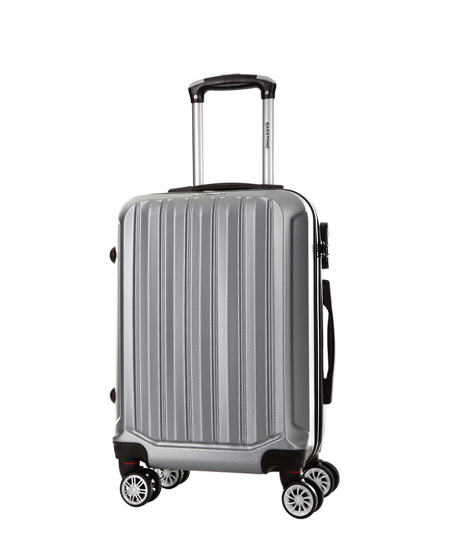 Silver spinner suitcase 60cm Sale - bagstone