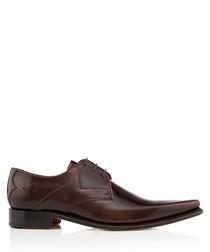 Hemmings Yardbird walnut leather Derbys