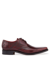 Hemmings Yardbird damson leather Derbys