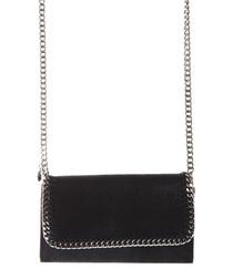 Falabella black chain shoulder bag