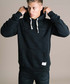 Hiber black cotton blend hoody Sale - criminal damage Sale